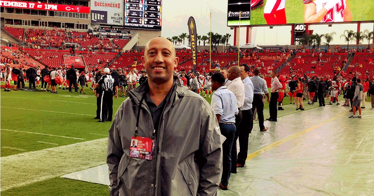 Dr. Joseph Spine Surgeon Tampa Bay Bucs